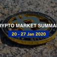 Price Analysis: 20 – 27 January 2020