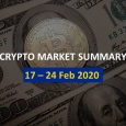 Price Analysis: 17 – 24 Feb 2020