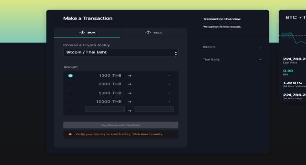 trading UI