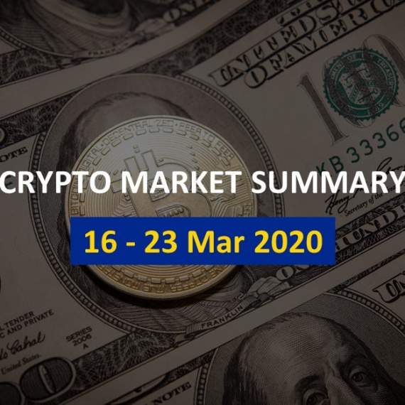 Price Analysis 16 – 23 Mar 2020