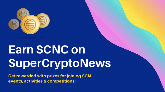 SCNC is Here! Introducing SuperCryptoNews Rewards Program