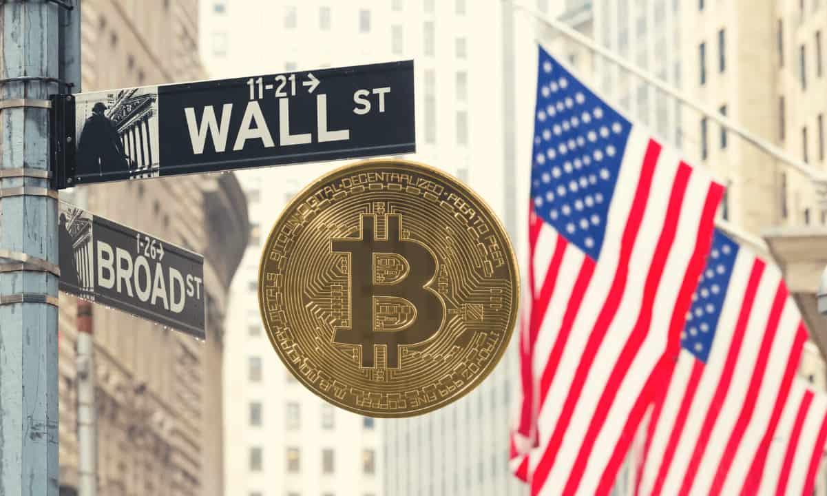 phố wall và bitcoin
