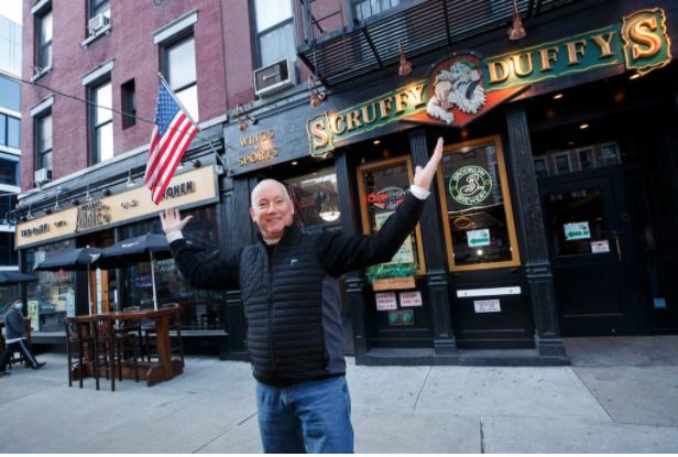Patrick Hughes NY bars sold for bitcoin