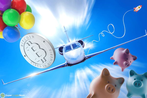 bitcoin payment for private jet