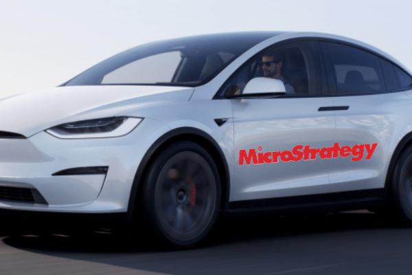 MicroStrategy on Tesla