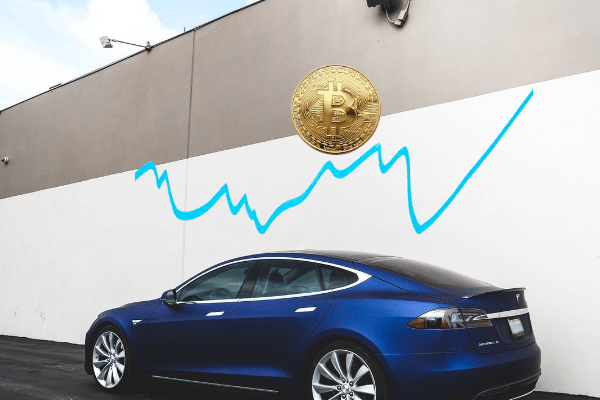 Tesla bitcoin all time high