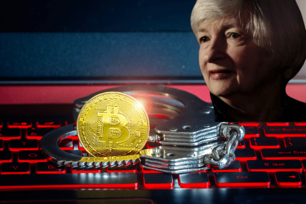 yellen cryptocurrency crime
