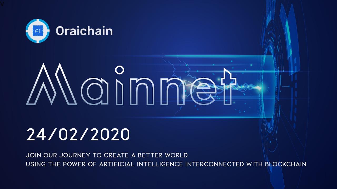 Oraichain Mainnet released