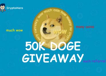 CryptoHero Dogecoin referral program