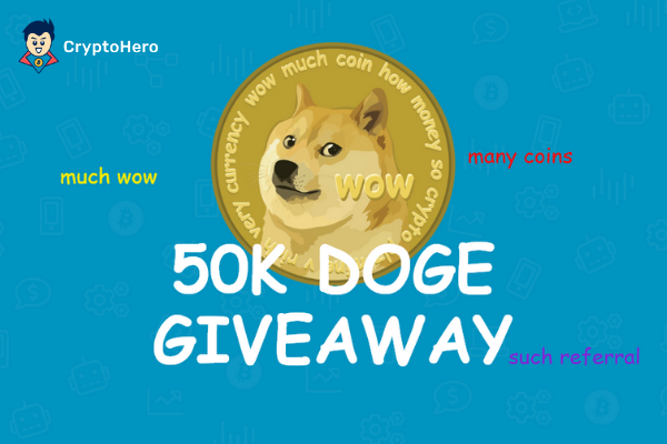 CryptoHero Dogecoin referral program
