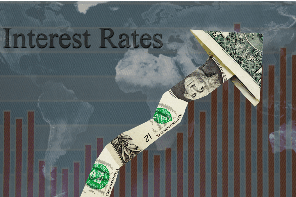interest rate yield rise