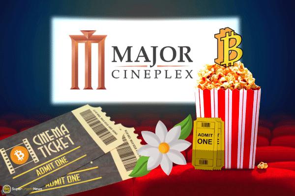 Bitcoin payment at Thailand cinema