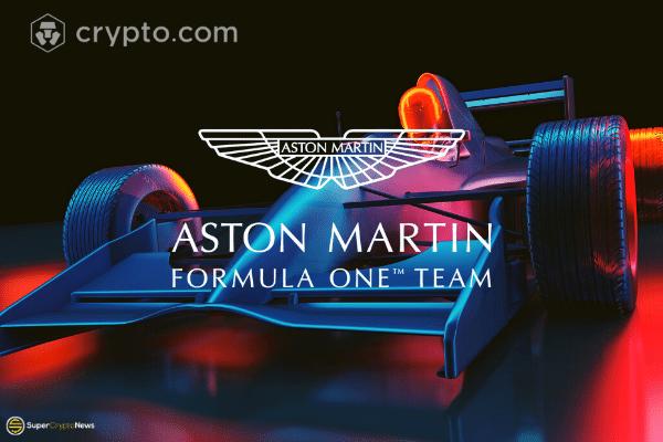 crypto.com sponsors Aston Martin F1