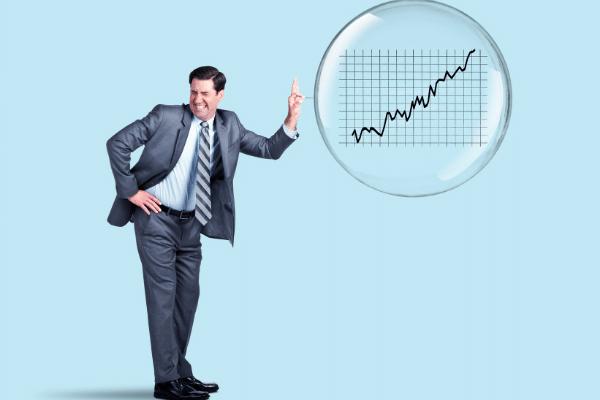 stock bubble