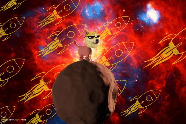 Dogecoin hits 20 cents