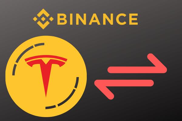 Binance Tesla stock