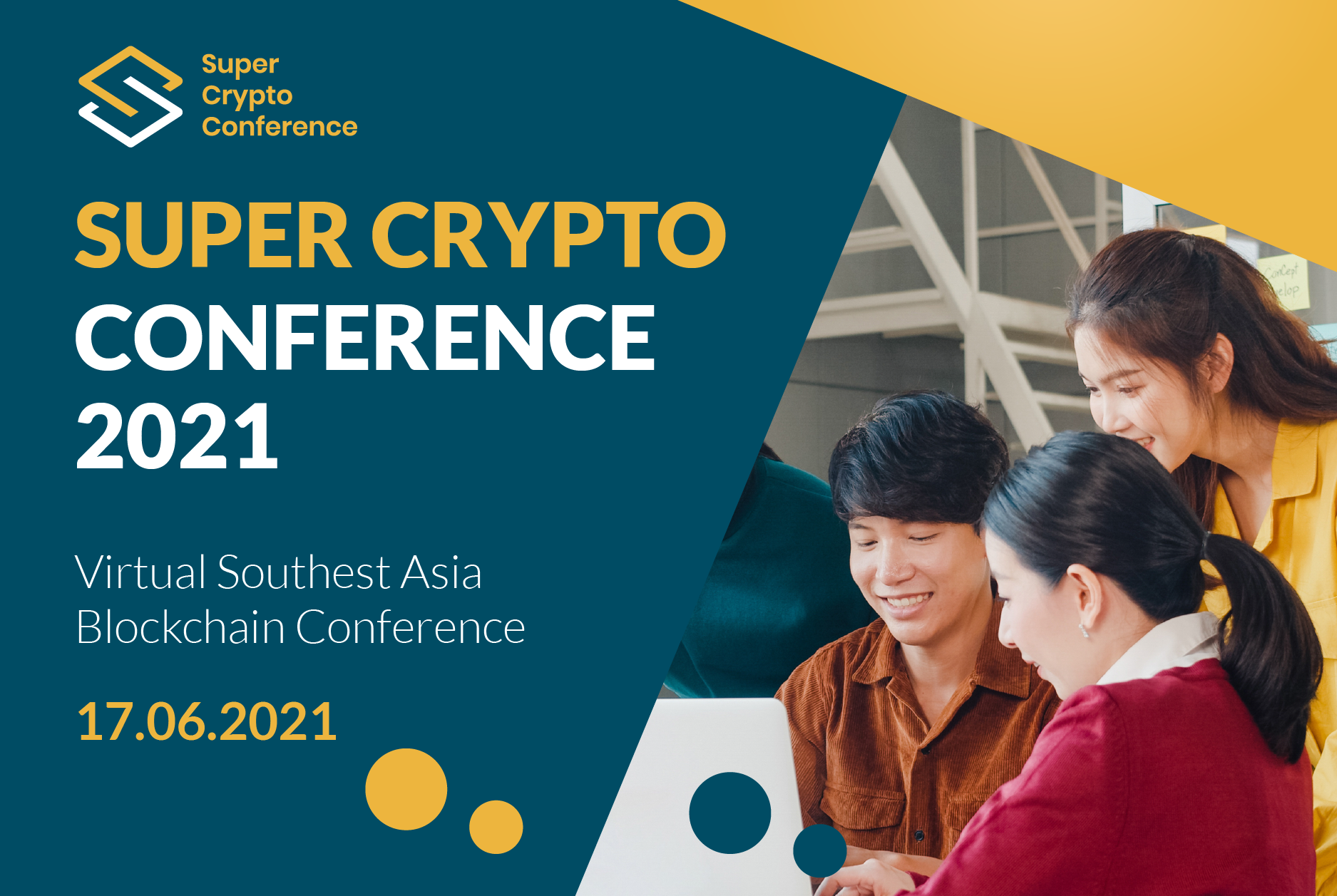 [Event Recap] Super Crypto Conference 2021 – An Overview of Blockchain & Cryptocurrency in Southeast Asia